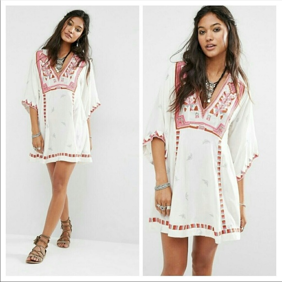 Free People Dresses & Skirts - Free People Tulum Embroidery Dress Tunic